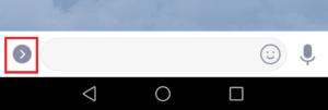 Line 写真ボタン表示