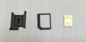 SIMサイズ変換アダプタ1