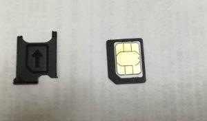 SIMサイズ変換アダプタ2